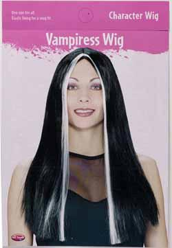 Vampira Wig 24in Adult