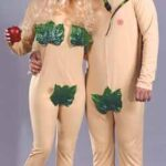 2 Costumes Adam N Eve Both