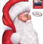 Christmas Santa Back Seat Driver