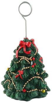Christmas Tree Photo/Balloon Holder
