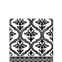 Tableware  Damask Beverage  Napkins36ct