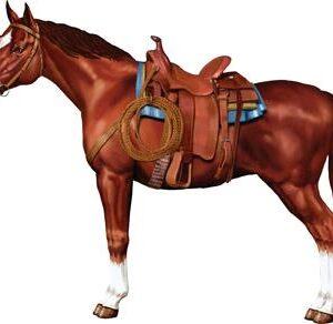 Barn Cutout Horse 38in