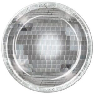 Tableware Disco Lunch  Plates