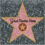 A Peel N Place Stars Personlizable