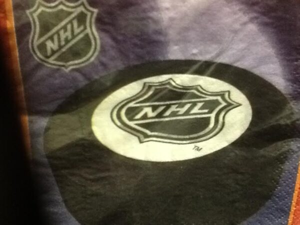 Hockey Faceoff  Luncheon  Napkins