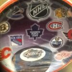 Hockey Face Off Lunch Plates