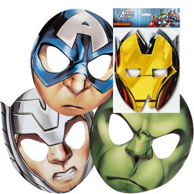 Superheroes Avengers Mask 4Ct
