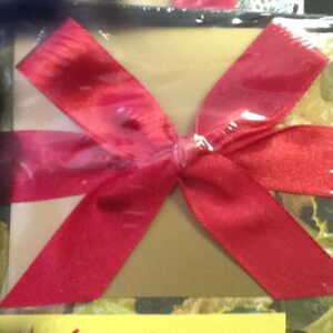 Gift Box With Lid and Ribbon