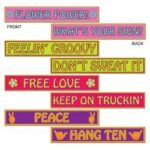 60's Cutouts Street Signs  4ct