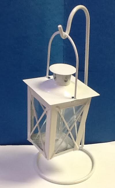 A Mini Lantern Candle Holder with Hanger