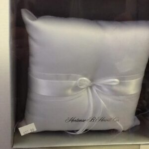 """A Satin Ring Pillow"""