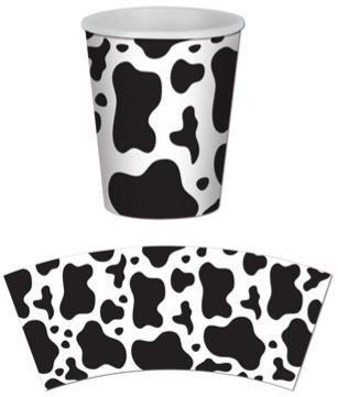 Barn Farm Cow print Cups