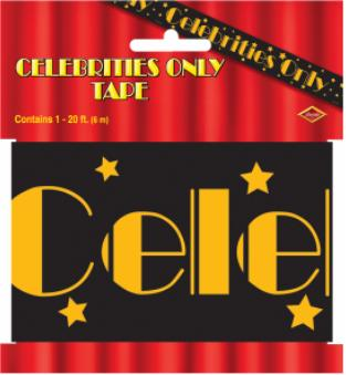 Celebrities Only Party Tape