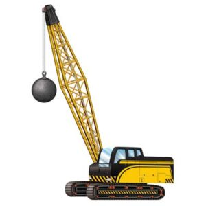 Construction Crane Cutout