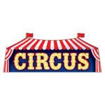Circus Sign Cutout