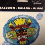 Luau Balloon Tiki Time 18in