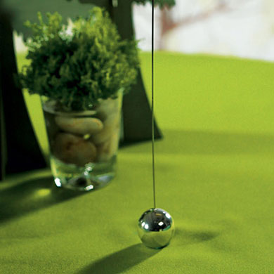 A Classic Round Base Table Number Holder