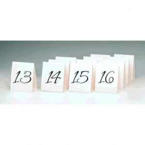 13-24 table Numbers Tent  Style