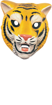 Tiger Mask  Plastic