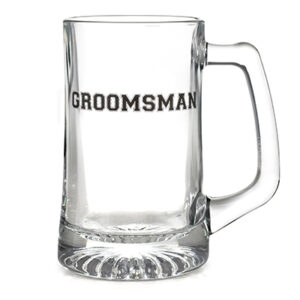 Wedding Party Groomsman Beermug