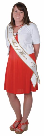 Bridal party Maid Of Honor Sash