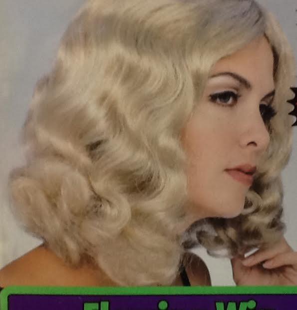 Blonde Flowing wig