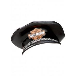 Biker Hat Harley Davidson Black