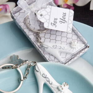 Favor Keychain Cinderella Slipper