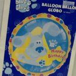 Balloon Blues Clues