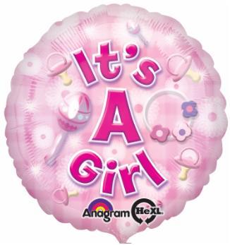 Balloon Its A Girl
