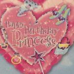 Balloon Princess Happy Birthday