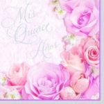 15 Blossom Mis Quince Amos Napkins 36ct