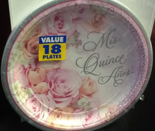 15 Blossom Mis Quince  Plates 18ct