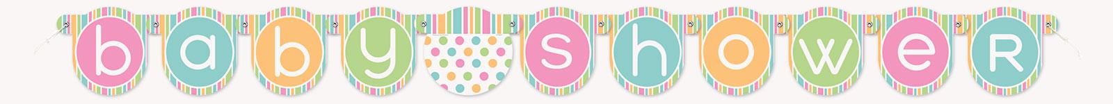 Baby Shower Pastel Banner