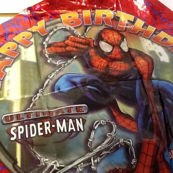 Balloon Superhero Spiderman Birthday