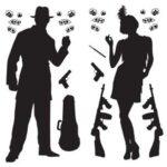 20's Gangster Scene Setter Prop