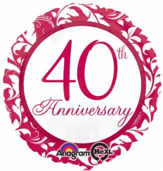 Balloon 40th Anniversary