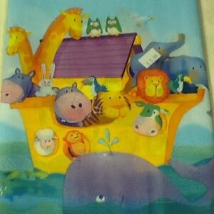 Noah's Ark Two By Two Table Cover