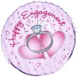 Balloon Happy Engagement 18in