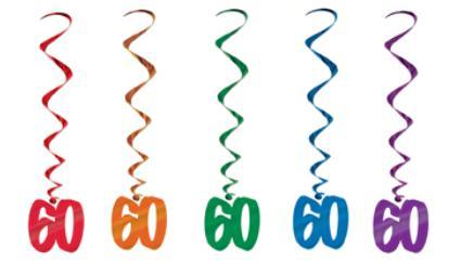 60's Swirls 5 ct