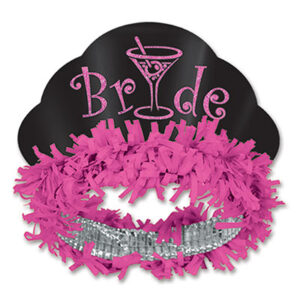 A Fringed Tiara Bride