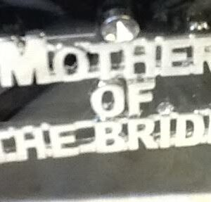 Bridal  Party Pin  Mother Of The Bride