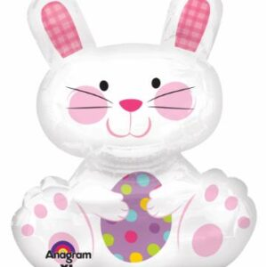 Easter Balloon Bunny 29in