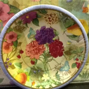 A Spring Le Jardin 7in Plates