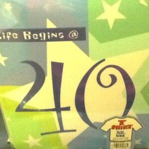 Birthday Shimmer 40  TShirt