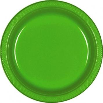 Tableware Kiwi Plastic Plates 7in
