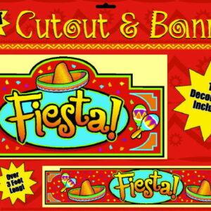 Banner & Cutout Fiesta