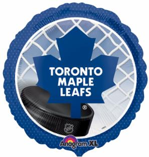 Hockey Balloon Maple Leaf