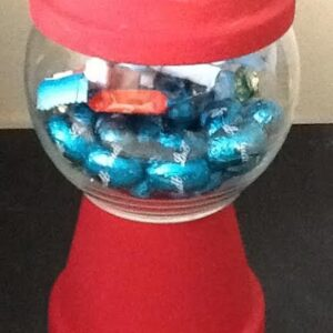 Candy Jar Gumball Machine Small