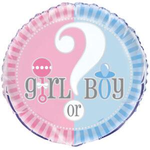 Boy Or Girl Balloon